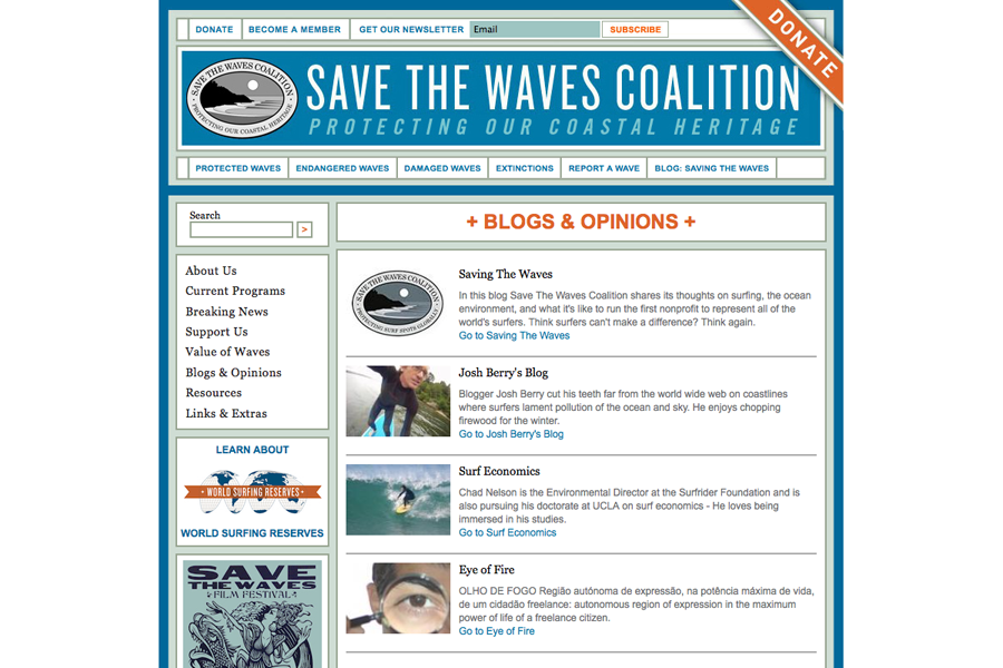 Save The Waves Coalition Portfolio Graphic 3