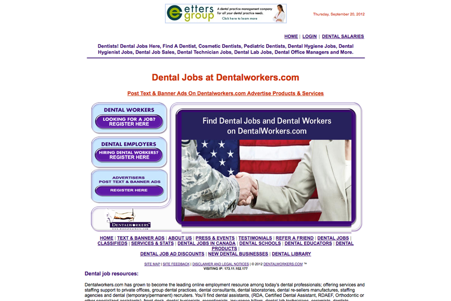 Dental Workers Portfolio Graphic 1