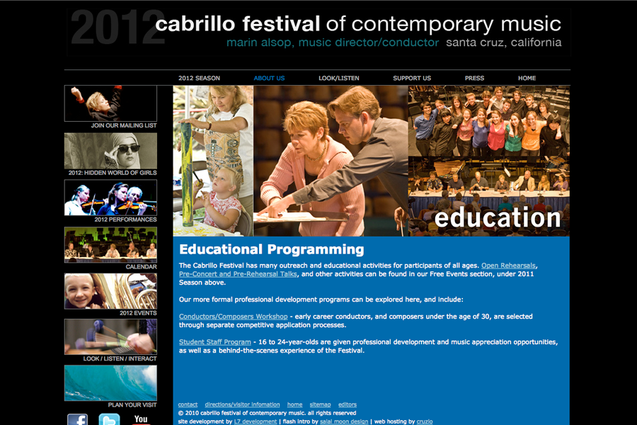 Cabrillo Music Festival Portfolio Graphic 3