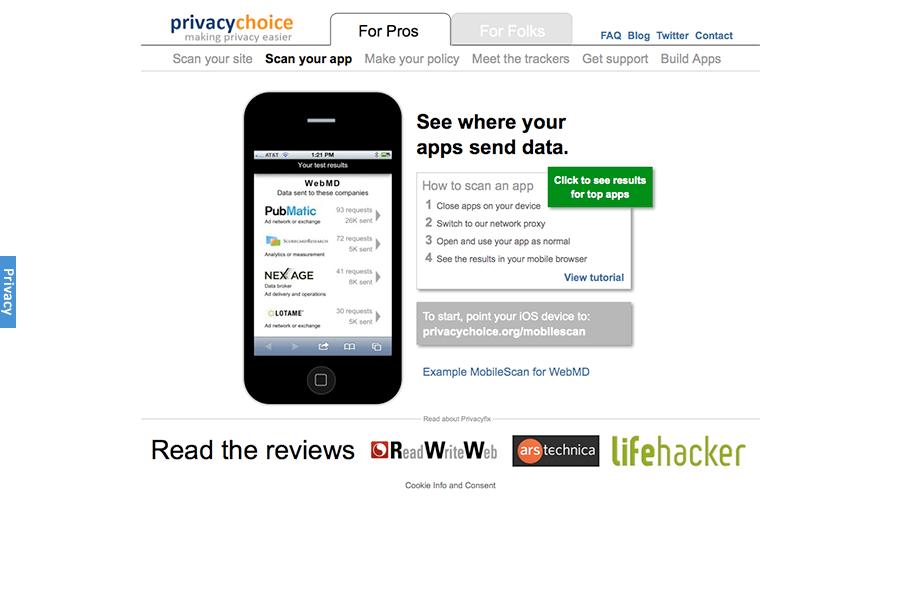 Privacy Choice / Privacy Fix Portfolio Graphic 3