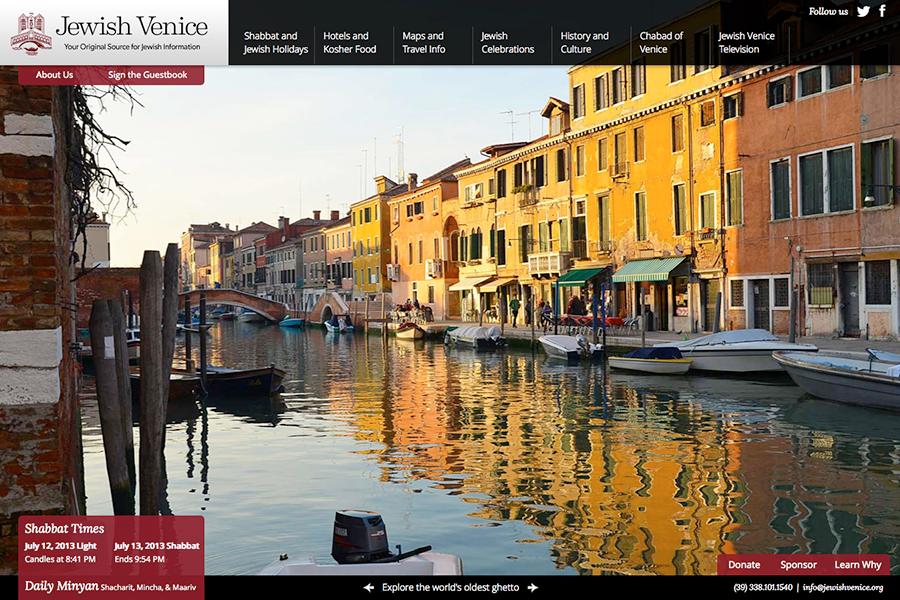 Jewish Venice Portfolio Graphic 1