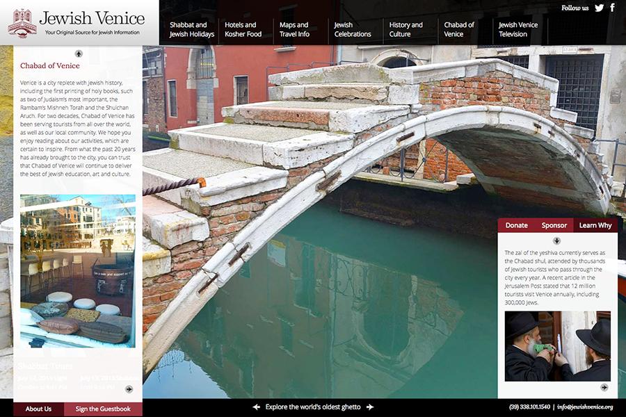 Jewish Venice Portfolio Graphic 3