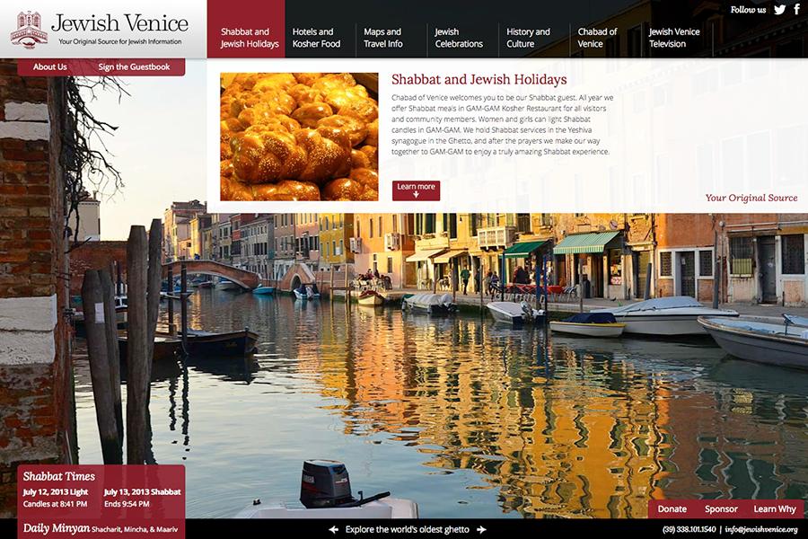 Jewish Venice Portfolio Graphic 4