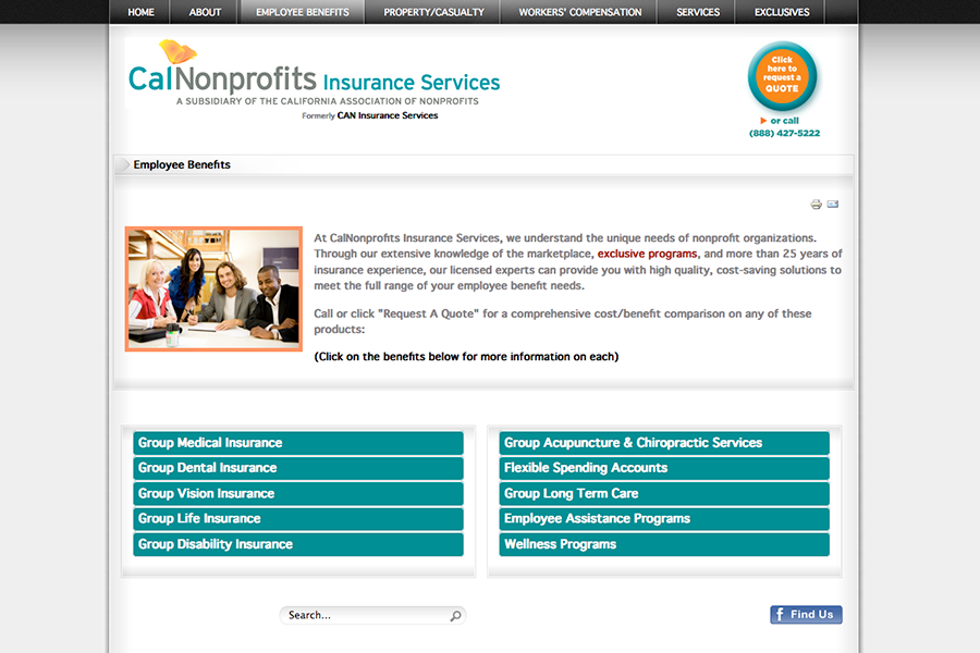 CalNonprofits Insurance Services Portfolio Graphic 3