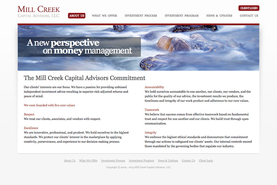 Mill Creek Capital Portfolio Graphic 2