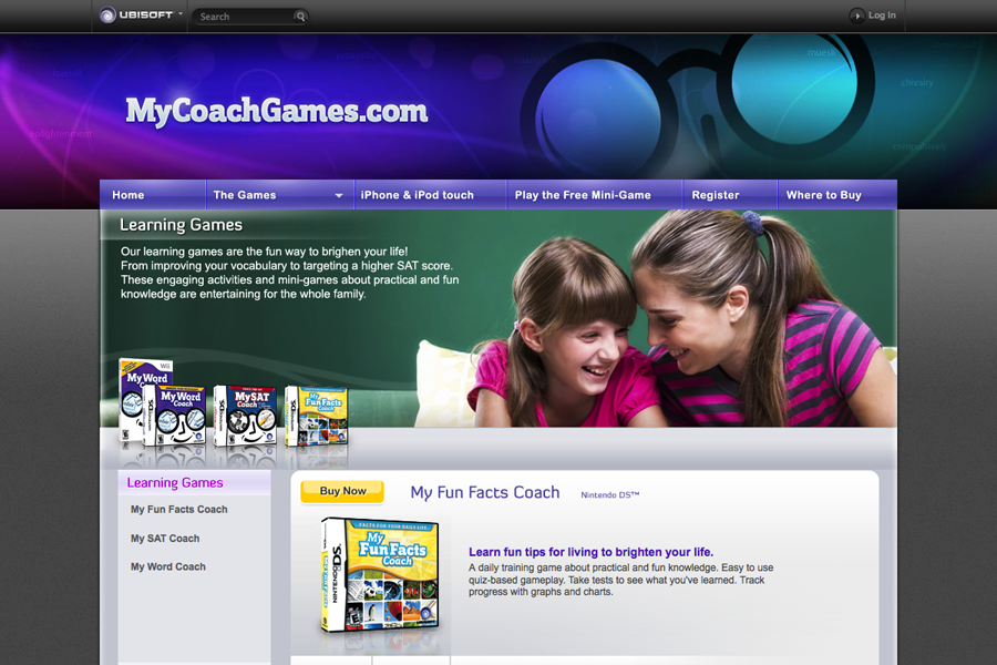 My Coach Games Ubisoft Portfolio Graphic 2