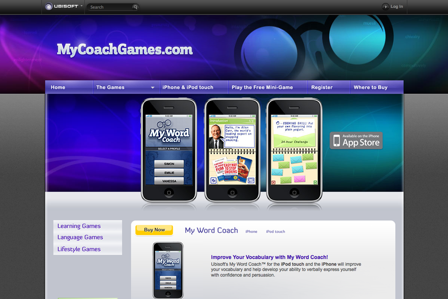 My Coach Games Ubisoft Portfolio Graphic 3