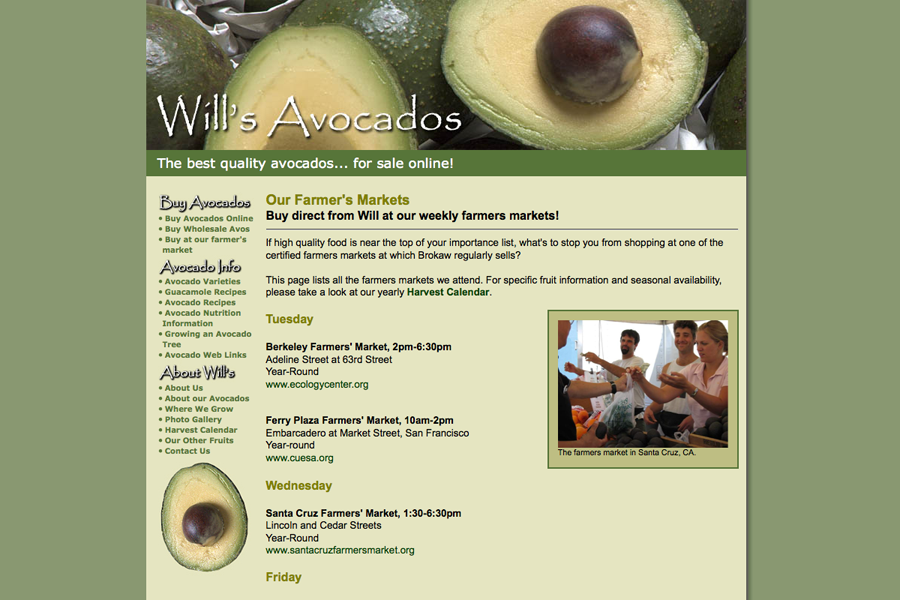 Wills Avocados Portfolio Graphic 2